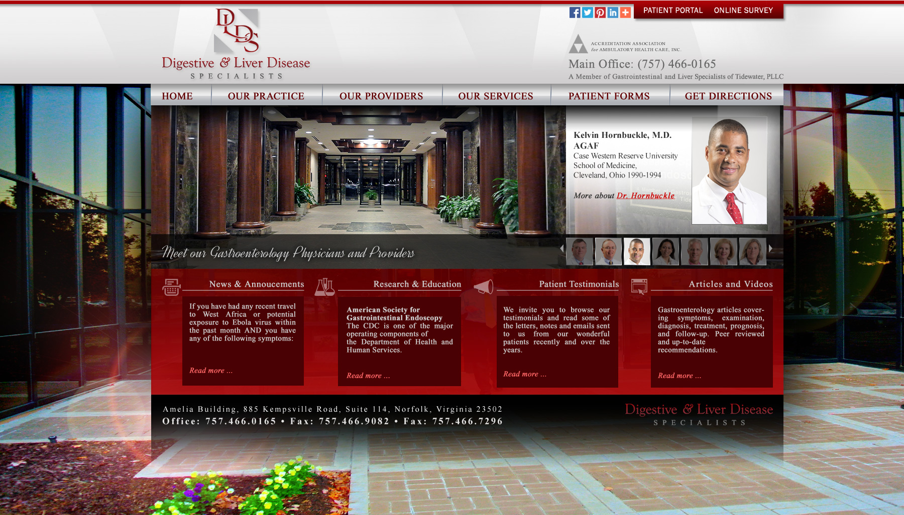 Responsive Web Designs Norfolk,VA and Hampton Roads : DLDS
