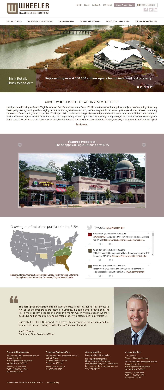 Web Design for Commercial Real Estate Companies Virginia : VISIONEFX